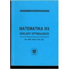 Matematika III: základy optimalizace