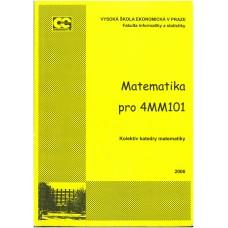 Matematika pro 4MM101