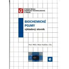 Biochemické pojmy výkladový slovník