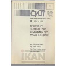 Deutsche textbuch fur studenten des maschinebau