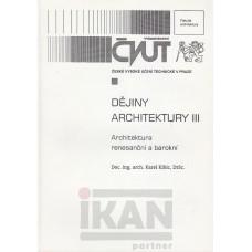 Dějiny architektury III-arch.renesanční a barokní
