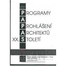 Programy a prohlášení architektů-20.století