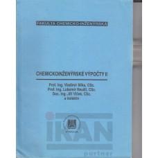 Chemickoinženýrské výpočty II
