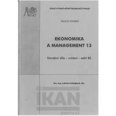 Ekonomika a management 13 - Stavební dílo cvičení, sešit B2