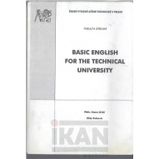 Basic english for the technical university