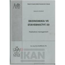 Ekonomika ve stavebnictví 50-Hodnotový management