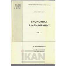 Ekonomika a management. EM 12