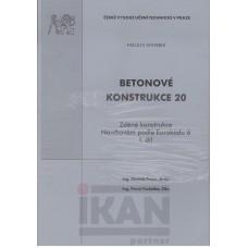 Betonové konstrukce 20. Zděné konstrukce. Navrhování podle Eurokódu 6. I. a II. díl