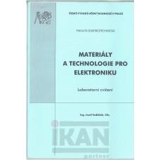 Materiály a technologie pro elektrotechniku. labor. cvičení