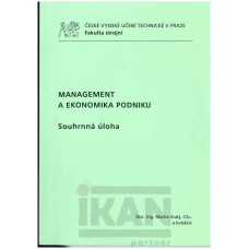 Management a ekonomika podniku - souhrnná úloha