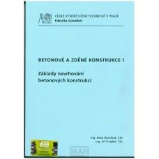 Betonové a zděné konstrukce 1- Základy navrhování bet. konstrukcí