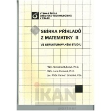 Sbírka příkladů z Matematiky II ve strukturovaném studiu